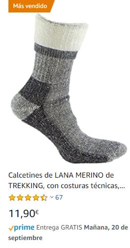 calcetin termico
