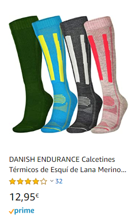 CALCETINES DANISH TERMICS