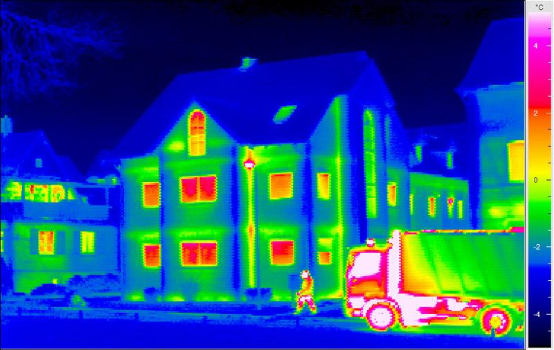 ¿Cómo funciona la imagen térmica?